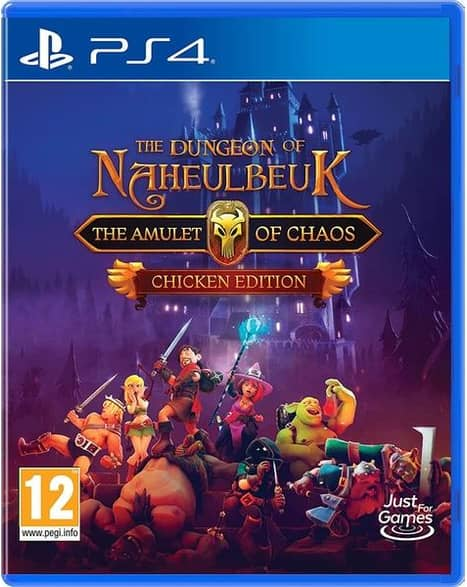 The Dungeon Of Naheulbeuk The Amulet Of Chaos Chicken Edition PS4 Game