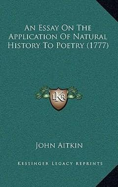 An Essay on the Application of Natural History to Poetry (1777) (Hardback)