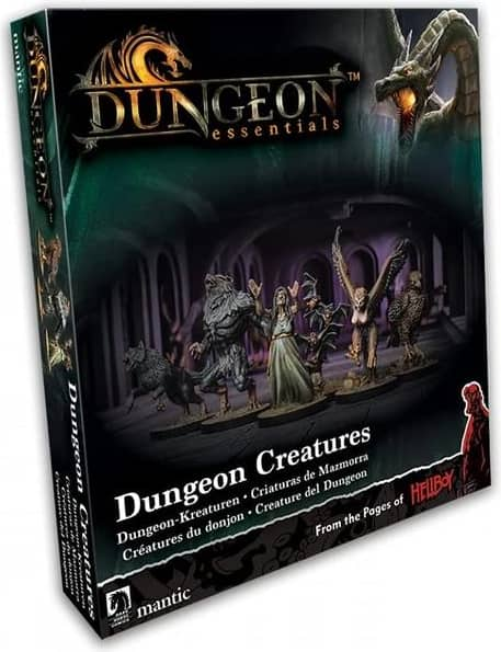 Terraincrate: Dungeon Essentials: Dungeon Creatures