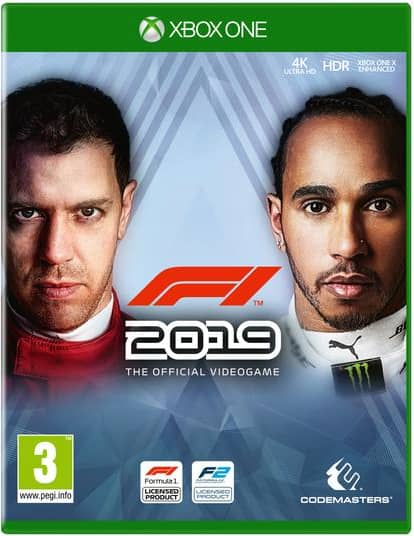 F1 2019 Xbox One Game