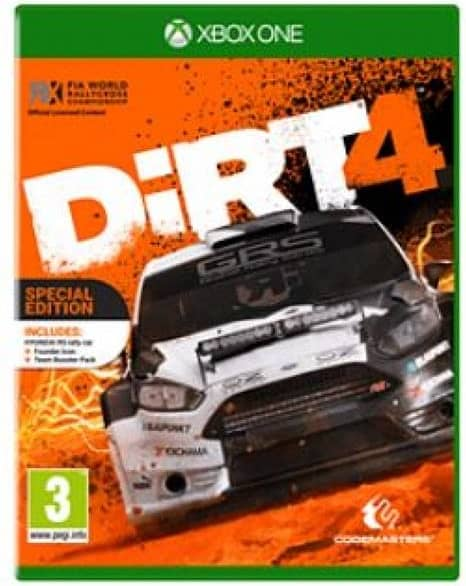 Dirt 4 Special Edition Xbox One Game