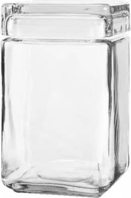 Anchor Hocking Stackable Jar with Glass Lid   1.4L
