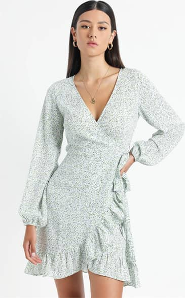 Showpo Clovelly Dress in Blue - 8 (S) Casual Outfits