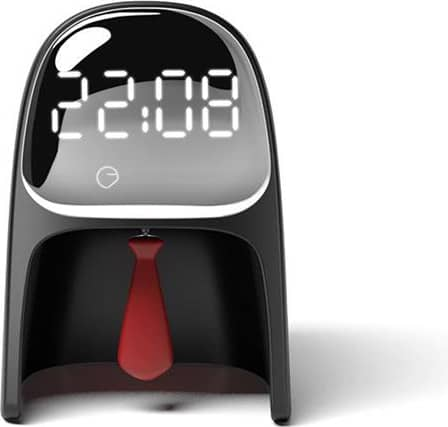 D01A-01 Time gentleman Alarm Clock Desktop Lamp Intelligent Multi-functional Timing Bedroom Bedside Lamp