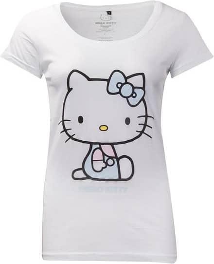 Hello Kitty - Hello Kitty Embroidered Details Women's Medium T-sh
