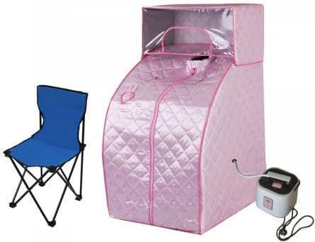 Portable Sauna System Steam Tent Home Spa For Quick & Convenient Relax