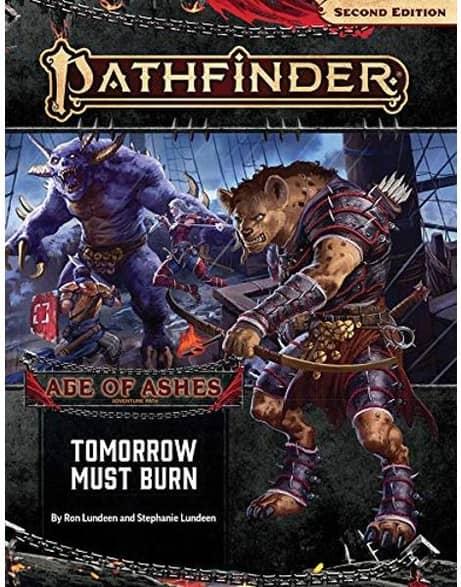 Pathfinder Rpg Second Edition Adventure Path: Tomorrow Must Burn (age