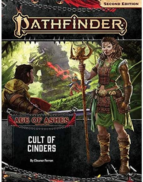 Adventure Path: Cult Of Cinders (age Of Ashes 2 Of 6): Pathfinder Rpg