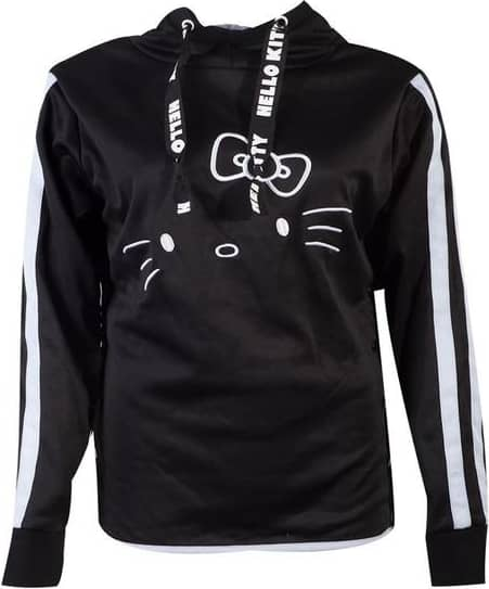 Hello Kitty - Hello Kitty Side Buttons Women's X-large Hoodie - B