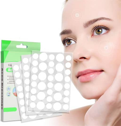 108PCS Acne Pimple Master Patch Skin Tag Removal Patch Pimple /Blackhead Blemish Removers Facial Care Tool
