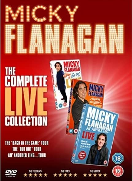 Micky Flanagan The Complete Live Collection DVD