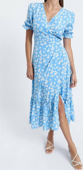 Showpo Washington Dress in Blue Floral - 06 Casual Outfits