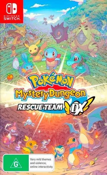 Pokemon Mystery Dungeon Rescue Team DX (NSW)