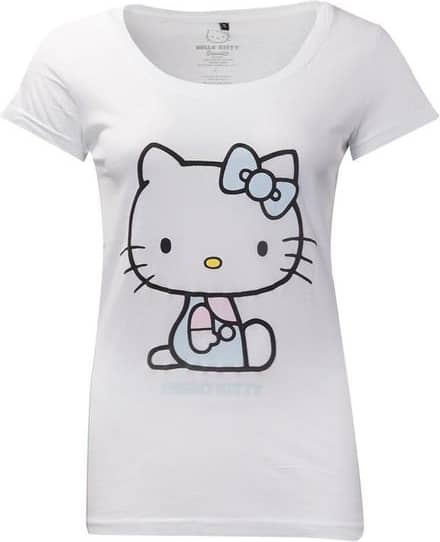 Hello Kitty - Hello Kitty Embroidered Details Women's X-large T-s