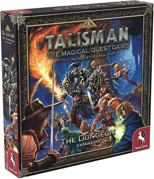 Talisman Board Game 4th Edition The Dungeon Expansion