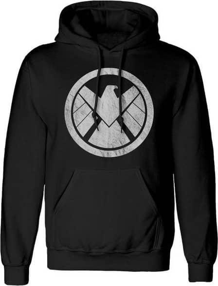 Marvel Men's Avengers Unisex Adult Shield Hoodie