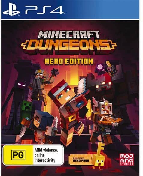 Playstation PS4 Minecraft Dungeons Hero Edition