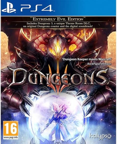 Dungeons III Extremely Evil Edition PS4 Game