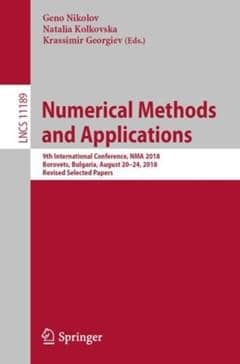 Numerical Methods and Applications (ebook)