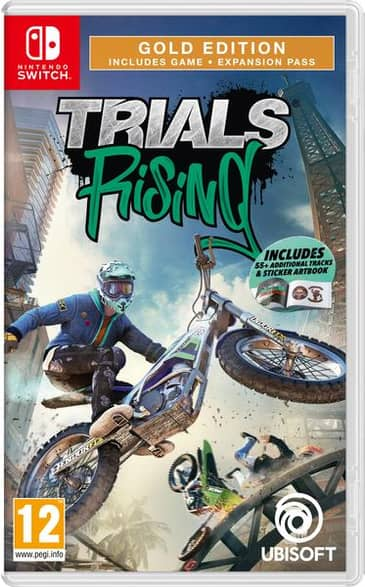 Trials Rising Gold Edition Nintendo Switch Game