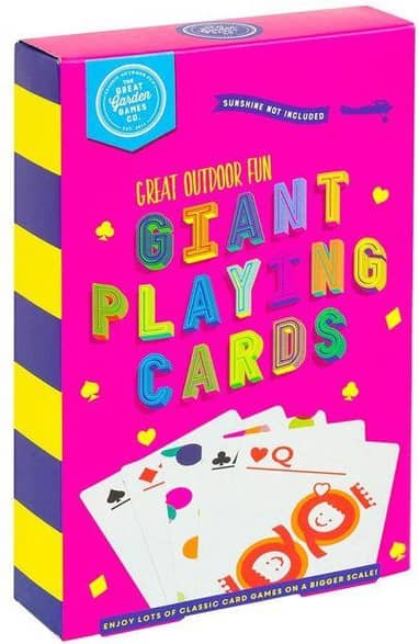 Game Kings Giant Playing Cards