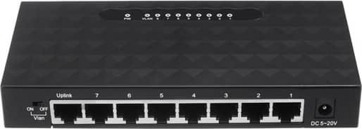 8-Port RJ45 10/100/1000Mbps Gigabit Ethernet Network Switch Lan Hub Adapter for Routers  Modems