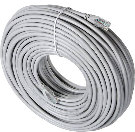 30/50M CAT 6 Ethernet Networking Cable LAN Internet Network for Computer Router PC