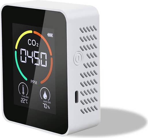CO2 Meter Air Quality Monitor Intelligent Multi-Functional Digital Display Temperature Humidity Detector Thermometer Hyg