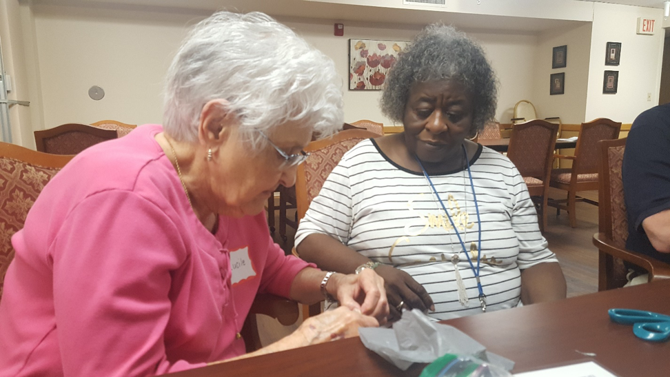 Weaving Together for Others