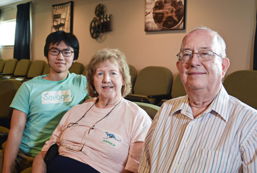 "A ""Grand"" Plan: Seniors and ""Teeniors"" Come Together for Adopt-a-Grandparent Week at Meridian Village"
