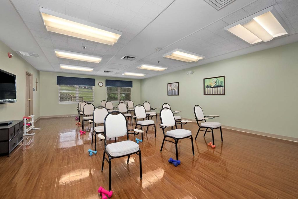 Lifestyle Enrichment Room