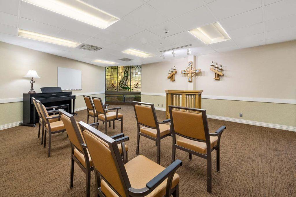 Jass Lounge and Chapel