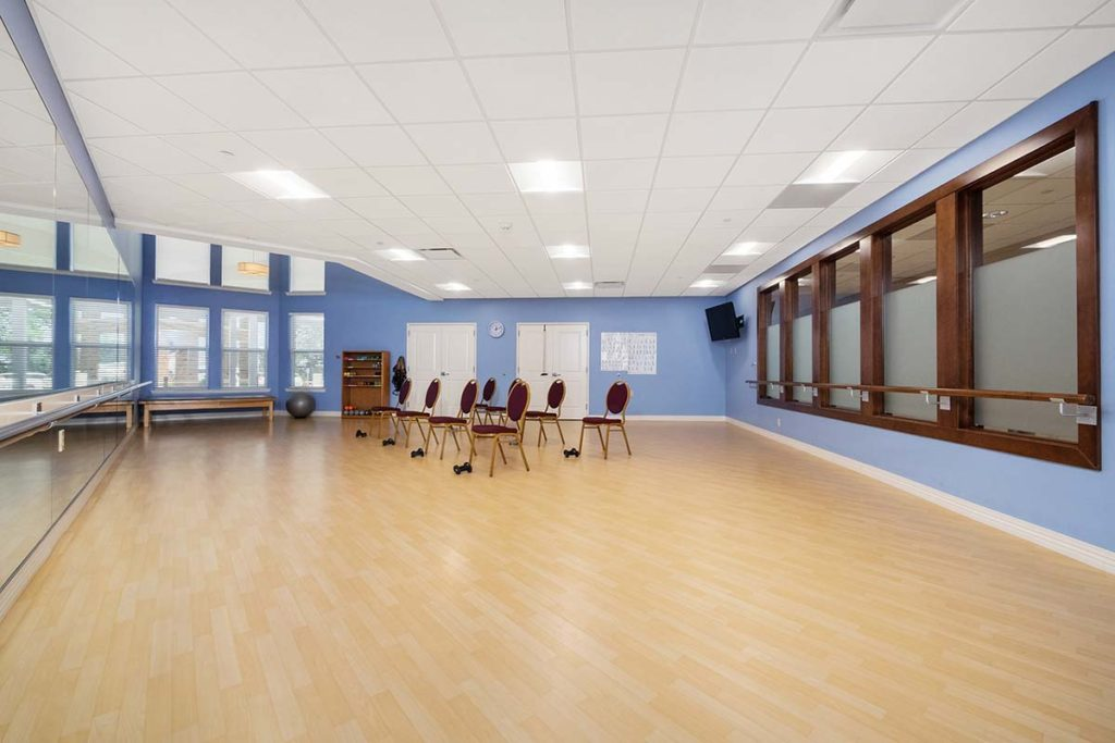 Aerobics Rooms