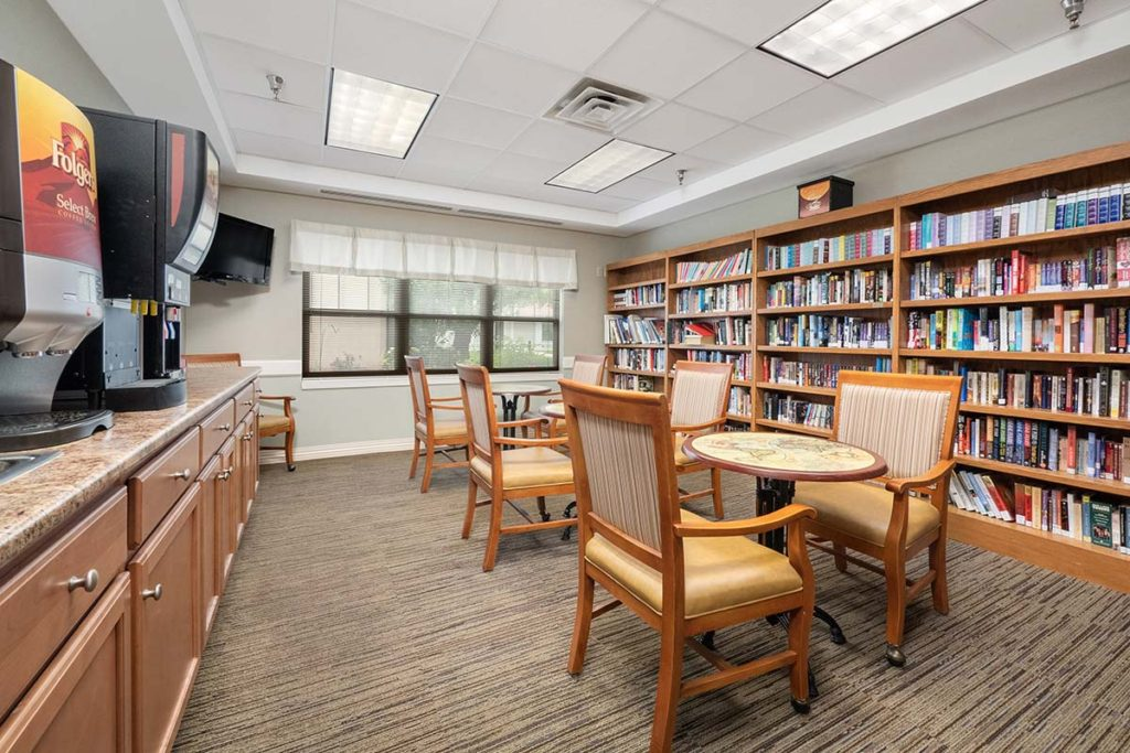Library and Beverage Bar
