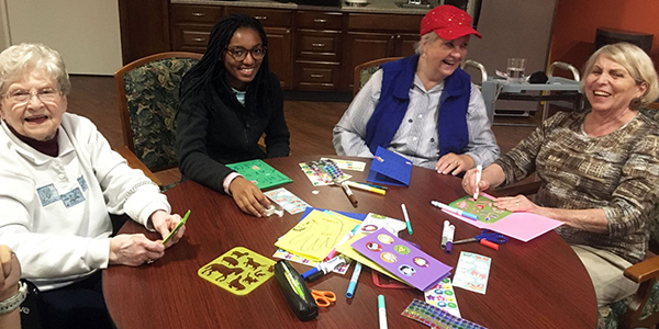 LSS Residents and Washington University: Intergenerational Connections