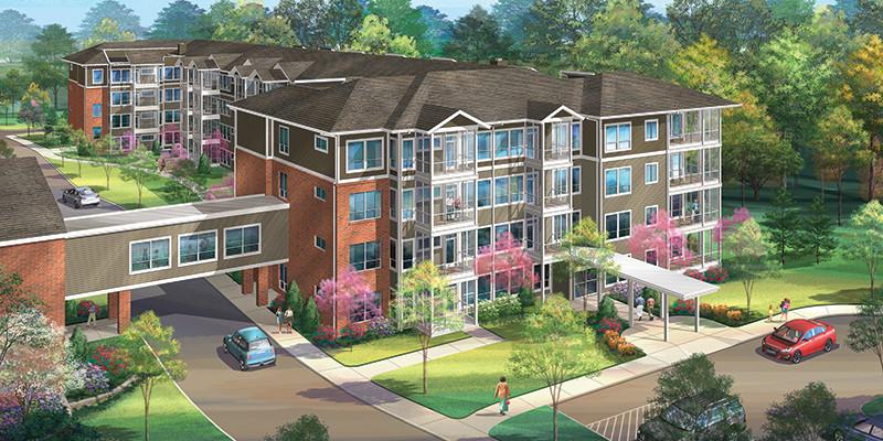 Lenoir Woods Edgewood Apartments Construction Making Progress
