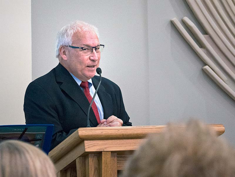 President, Gary Anderson Speaks