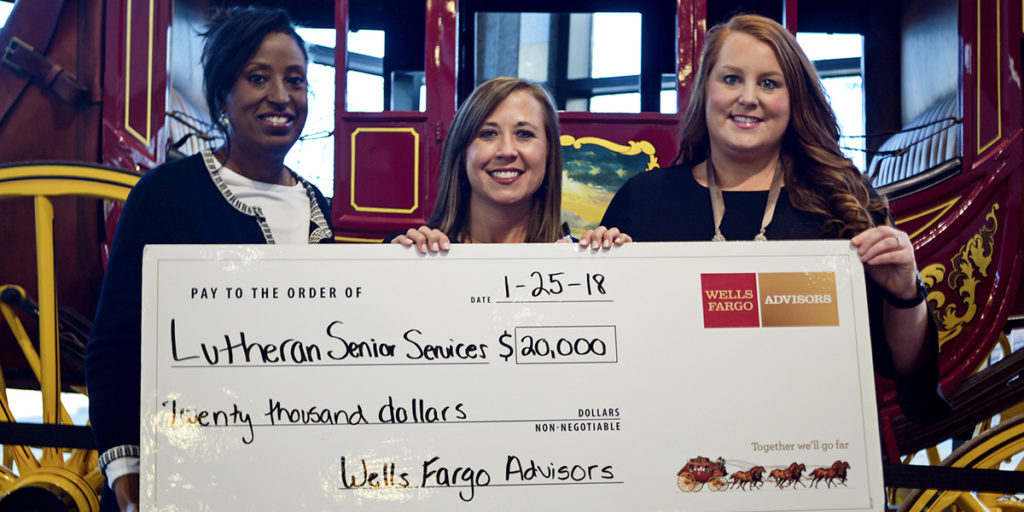 Wells Fargo Awards LSS with $20,000 Grant