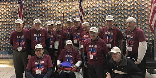 Laclede Groves Residents Take Honor Flight