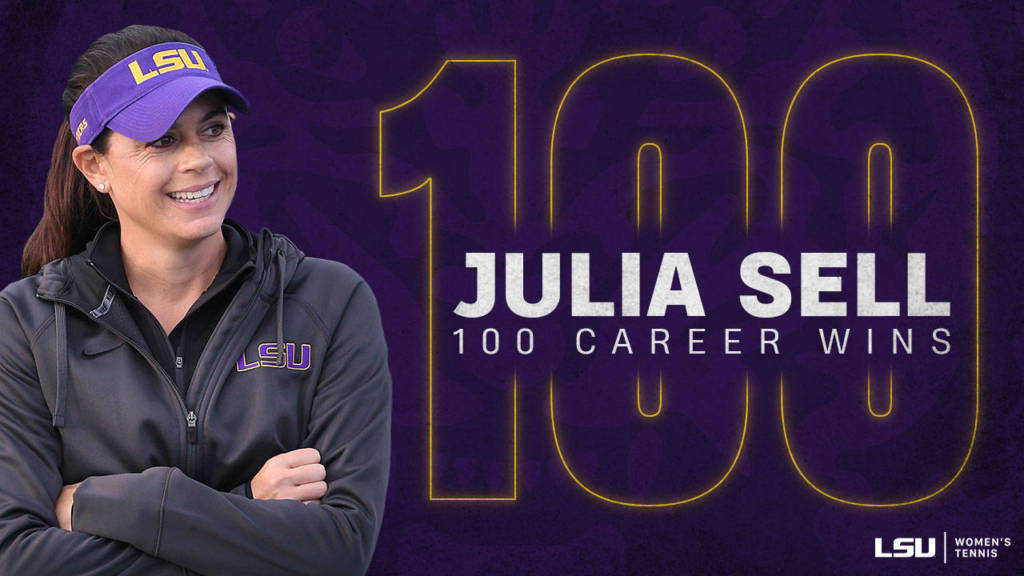 Julia Sell Earns 100th Career Win With 6-1 Victory Over ODU