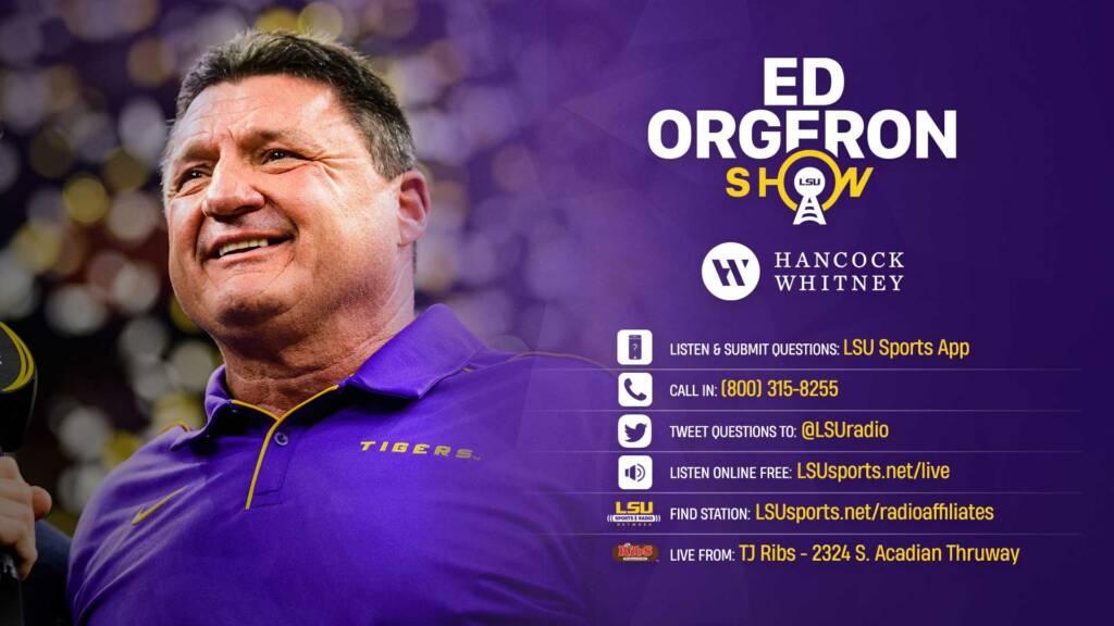 The Ed Orgeron Show - radio 2020-21