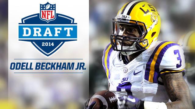 Beckham Jr. Highest Drafted WR in LSU History