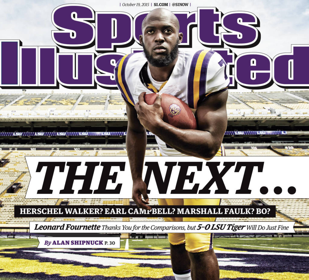 Fournette Featured on Cover of 'Sports Illustrated'