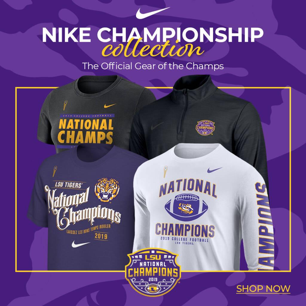 2019 LSU Football National Championship - Gear