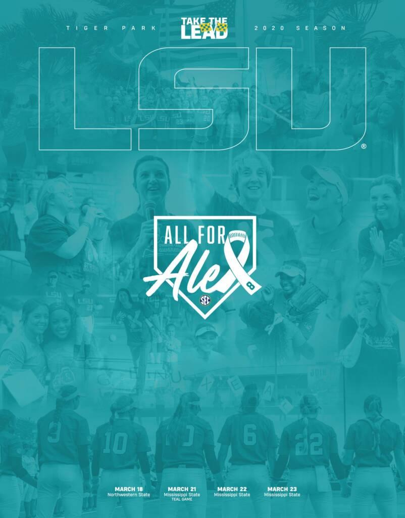2020 LSU Softball Game Program