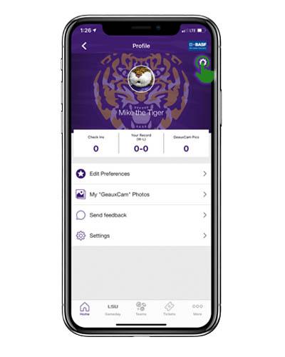 App Screenshot - Settings