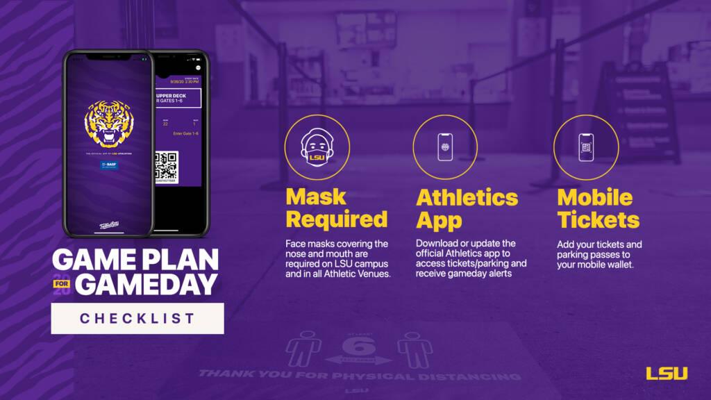 Game Plan for Gameday - Stadium Entry