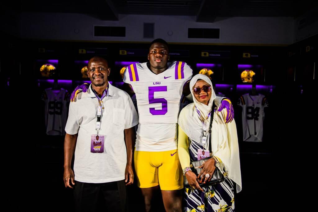 Ali Gaye parents
