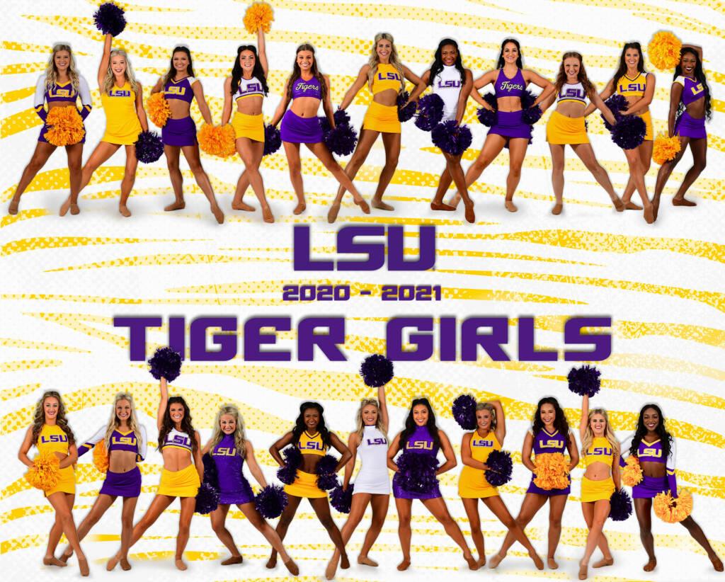 2020-21 LSU Tiger Girls Poster (digital only)