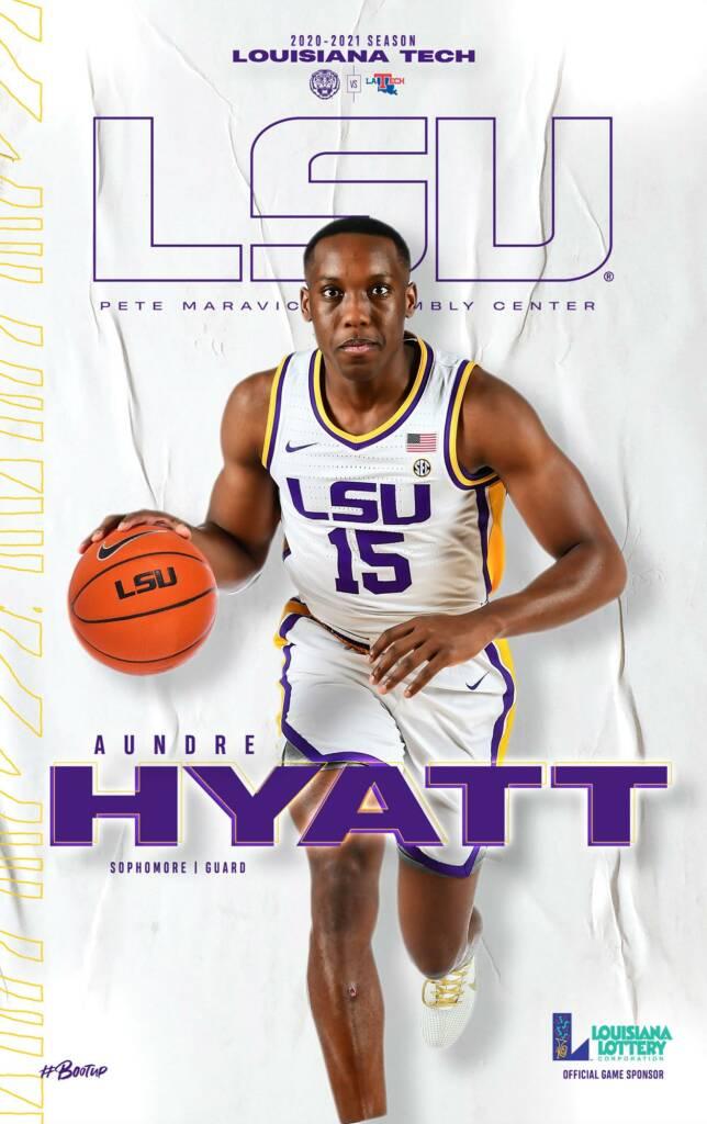 2020-21 LSU Mens Basketball Game Program Cover 1
